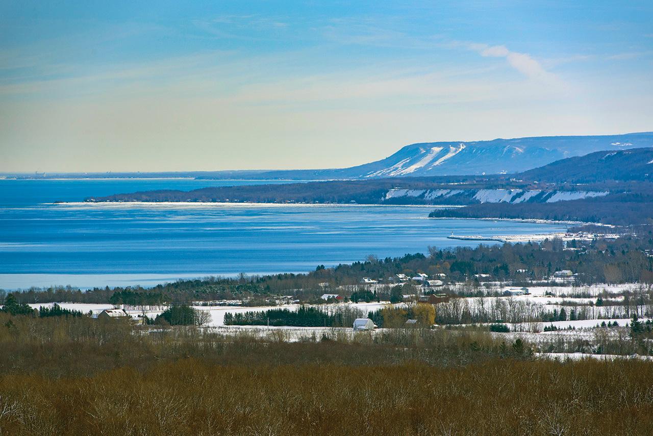 Irish Mountain Lookout Winter