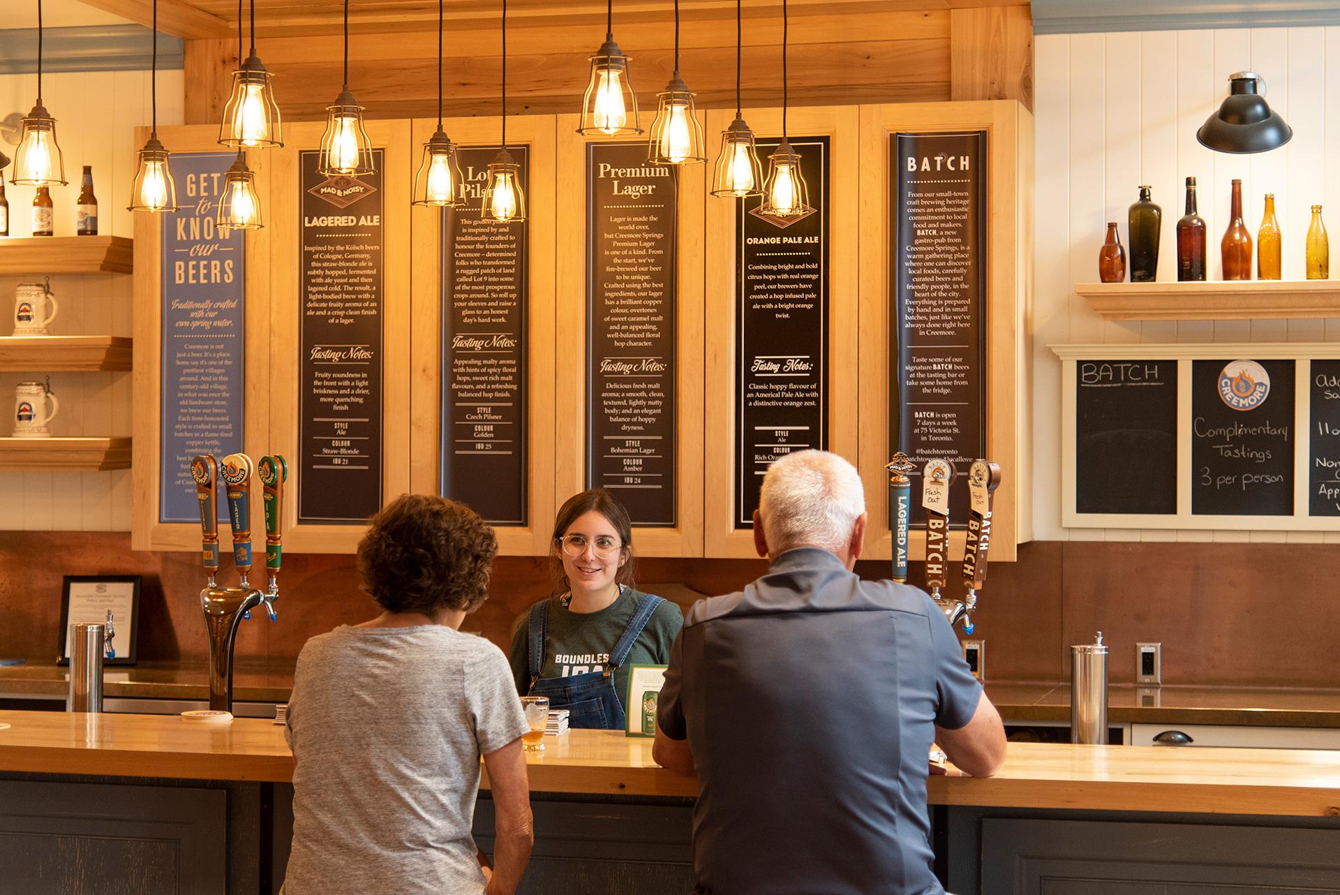 Creemore Springs Brewery Bar